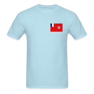 Wallis and Futuna Flag T-Shirt - Men's T-Shirt