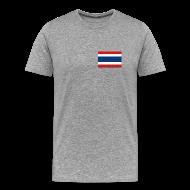 T-Shirts ~ Men's Premium T-Shirt ~ Thailand Flag T-Shirt