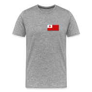 T-Shirts ~ Men's Premium T-Shirt ~ Tonga Flag T-Shirt