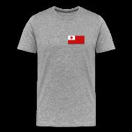 T-Shirts ~ Men's Premium T-Shirt ~ Tonga Flag T-Shirt