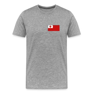 Tonga Flag T-Shirt - Men's Premium T-Shirt