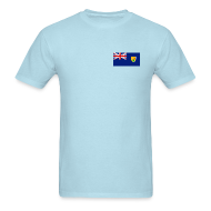 T-Shirts ~ Men's T-Shirt ~ Turks & Caicos Flag T-Shirt