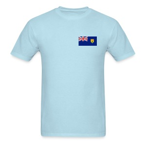 Turks & Caicos Flag T-Shirt - Men's T-Shirt