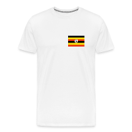 T-Shirts ~ Men's Premium T-Shirt ~ Uganda Flag T-Shirt