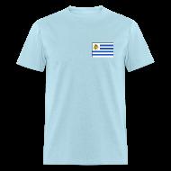 T-Shirts ~ Men's T-Shirt ~ Uruguay Flag T-Shirt