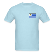 T-Shirts ~ Men's T-Shirt ~ Uruguay Flag T-Shirt