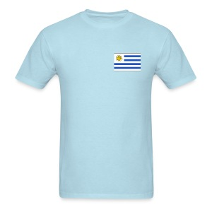 Uruguay Flag T-Shirt - Men's T-Shirt