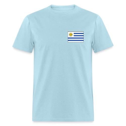 Uruguay Flag T-Shirt - Men's T-Shirt