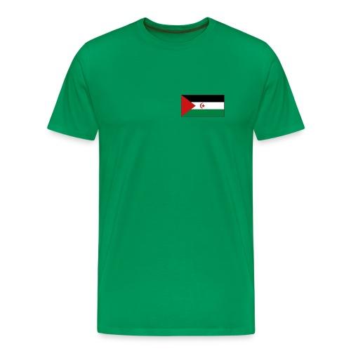 Western Sahara Flag T-Shirt - Men's Premium T-Shirt