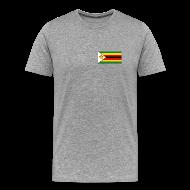 T-Shirts ~ Men's Premium T-Shirt ~ Zimbabwe Flag T-Shirt