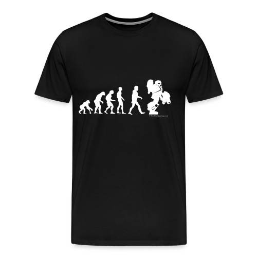 Evolution of a Wargamer - Men's Premium T-Shirt