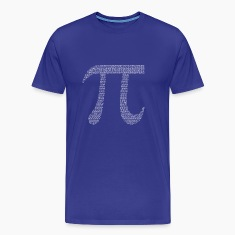 Numbers in decimals: Geometric Constant Pi T-Shirts