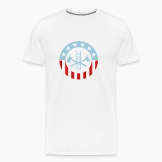 Patriotic Firefighter T-Shirts