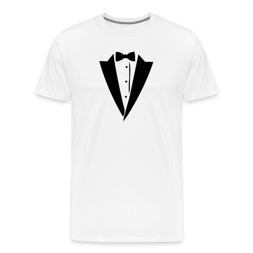 Tuxedo Shirt - Men's Premium T-Shirt