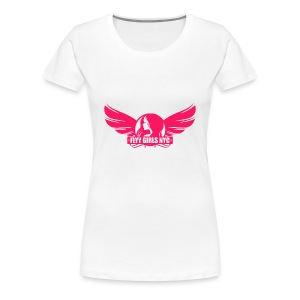 Flyy Girls NYC Short Sleeve T-shirt (Plus Size) - Women's Premium T-Shirt