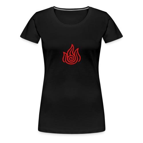 Fire Nation Womens Fitted Classic T-Shirt - Women's Premium T-Shirt