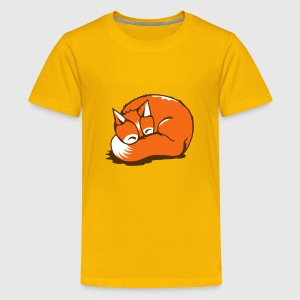 A sleeping fox Kids' Shirts - Kids' Premium T-Shirt