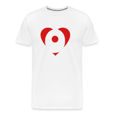 I love P T-Shirt - Heart P - Heart with letter P