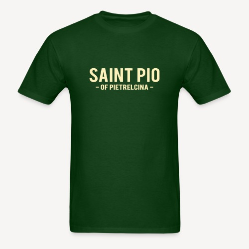 SAINT PIO - Men's T-Shirt