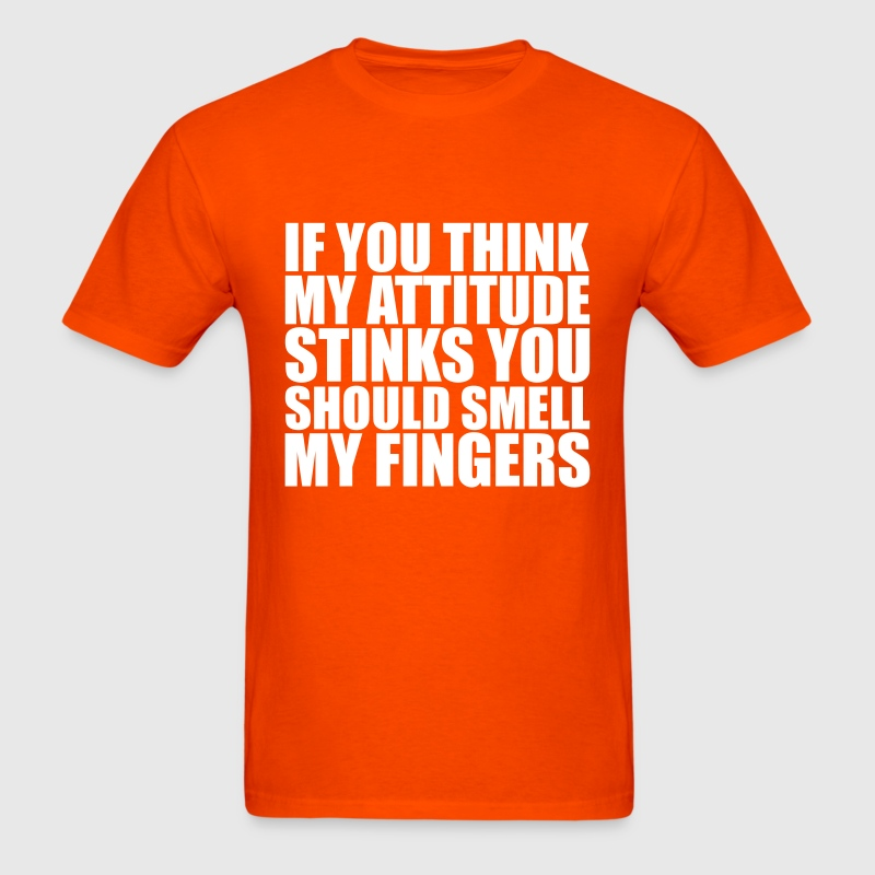 stinky fingers T-Shirts - Men's T-Shirt