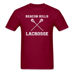 Beacon Hills Lacrosse front tee - Men's T-Shirt