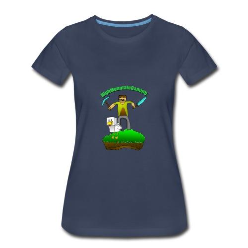 HMG Art-The Birth Of Eggward - Women's Premium T-Shirt