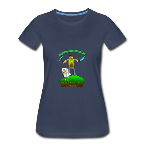 HMG Art-The Birth Of Eggward - Women's Premium T-Shirt