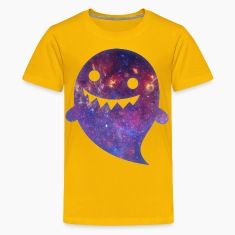 Ghost - Space Texture Kids' Shirts