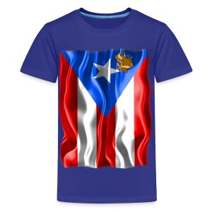 A Little Piece of Puerto Rico (Kids) - Kids' Premium T-Shirt