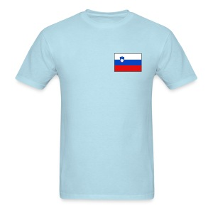 Slovenia Flag T-Shirt - Men's T-Shirt