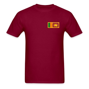 Sri Lanka Flag T-Shirt - Men's T-Shirt