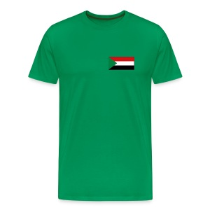 Sudan Flag T-Shirt - Men's Premium T-Shirt