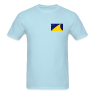 T-Shirts ~ Men's T-Shirt ~ Tokelau Flag T-Shirt