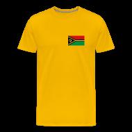 T-Shirts ~ Men's Premium T-Shirt ~ Vanuatu Flag T-Shirt
