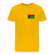 T-Shirts ~ Men's Premium T-Shirt ~ Vanuatu Flag T-Shirt