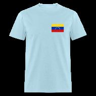 T-Shirts ~ Men's T-Shirt ~ Venezuela Flag T-Shirt