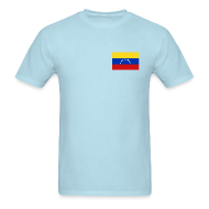 T-Shirts ~ Men's T-Shirt ~ Venezuela Flag T-Shirt