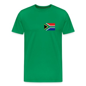 South Africa Flag T-Shirt - Men's Premium T-Shirt