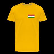 T-Shirts ~ Men's Premium T-Shirt ~ Tajikistan Flag T-Shirt