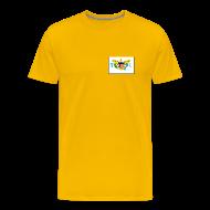 T-Shirts ~ Men's Premium T-Shirt ~ US Virgin Is. Flag T-Shirt