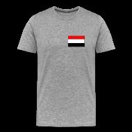T-Shirts ~ Men's Premium T-Shirt ~ Yemen Flag T-Shirt