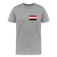 T-Shirts ~ Men's Premium T-Shirt ~ Yemen Flag T-Shirt