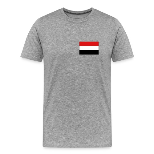 Yemen Flag T-Shirt - Men's Premium T-Shirt