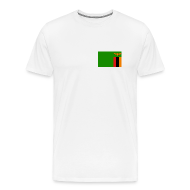 T-Shirts ~ Men's Premium T-Shirt ~ Zambia Flag T-Shirt