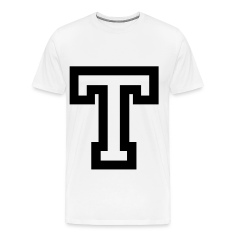 Stencil greek letters t shirts spreadshirt for Cute greek letter shirts