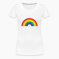 Full Rainbow Women's T-Shirts
