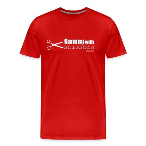 Gaming With Scissors - Men's Premium T-Shirt