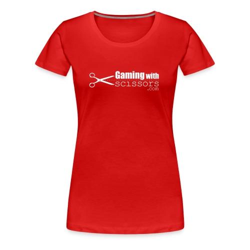 Gaming With Scissors Women - Women's Premium T-Shirt