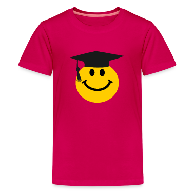 Graduate Smiley face Kids' Shirts