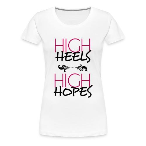 High  Heels  - Women's Premium T-Shirt